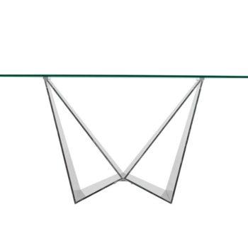 Consola de Cristal Pannali Morpho
