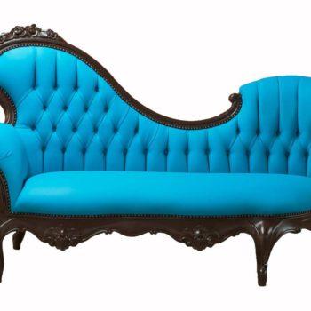 Love Seat Capitoneado Vintage Girasol